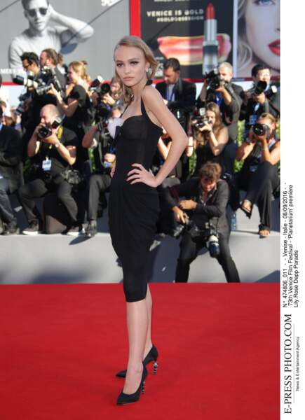 73th Venice Film Festival - 'Planetarium' premiere Lily Rose Depp