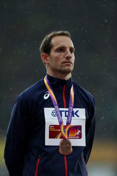 Renaud Lavillenie remporte le bronze au saut à la perche