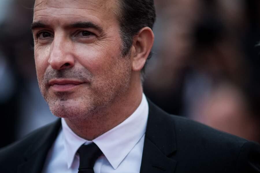 """Jean Dujardin en costume Berluti lors de la projection du film """"Les plus belles années d'une vie"""" le 18 mai 2019"""