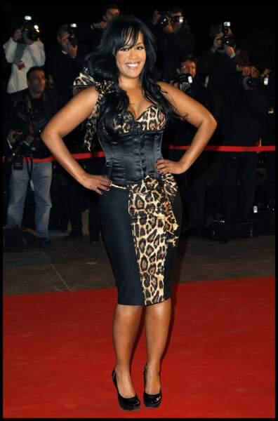 Amel Bent aux NRJ Music Awards à Cannes en 2011