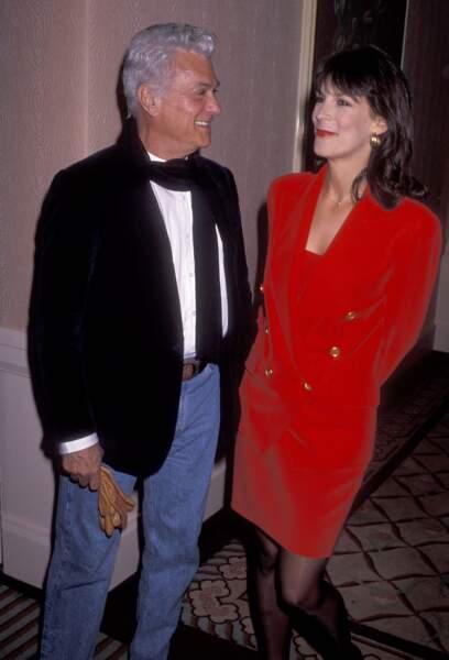 Tony Curtis et sa fille Jamie Lee