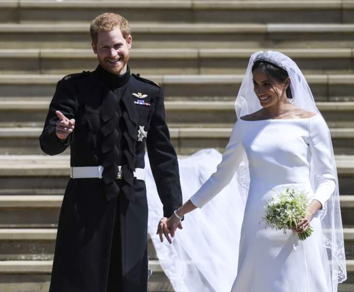 Meghan Markle et le prince Harry : Un couple lumineux