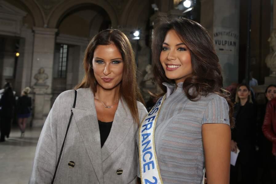 Ce 19 janvier, elle a retrouvé Vaimala Chaves, Miss France 2019