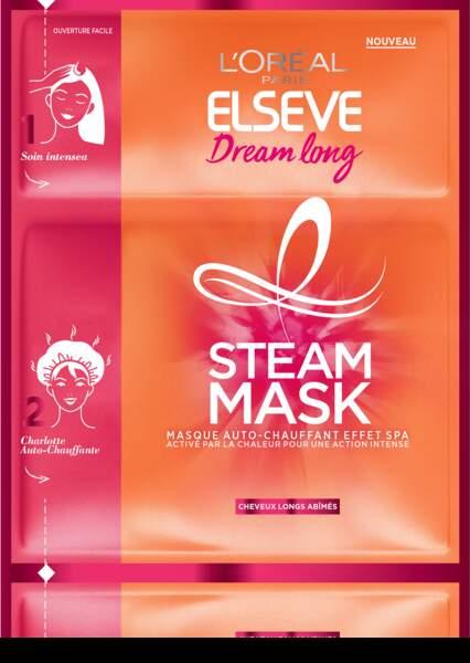 Elsève Dream Long, Masque Chauffant de L'Oréal Paris, 3,90 €