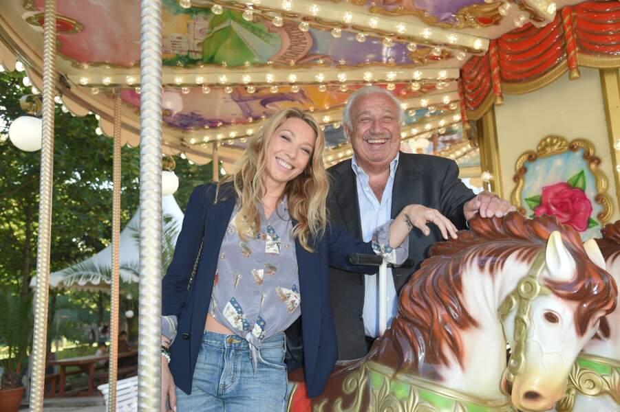 Laura Smet et Marcel Campion à la Soirée d'inauguration de la 35ème fête foraine des Tuileries