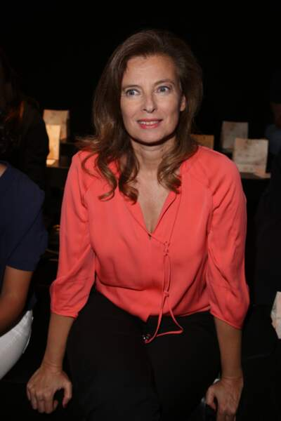 Valérie Trierweiler à la Fashion Week