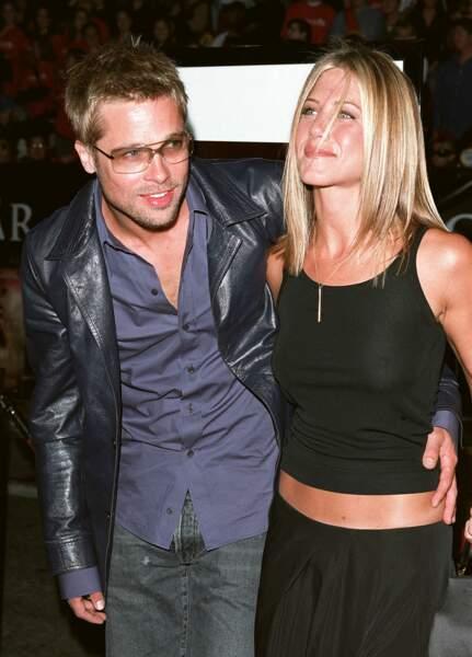 Jennifer Aniston abec un blond bébé époque Brad Pitt