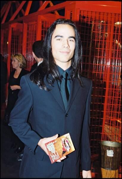 Damien Sargue, cheveux longs, en 2010