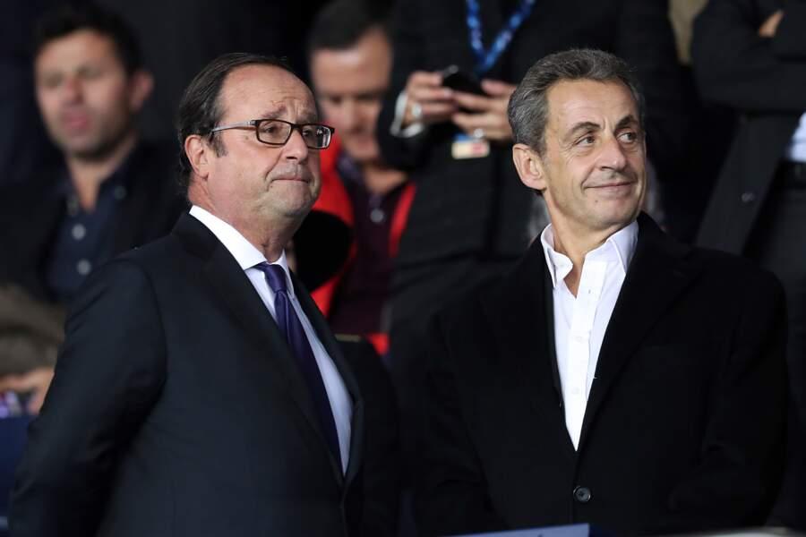 François Hollande et Nicolas Sarkozy regardent enfin dans la même direction