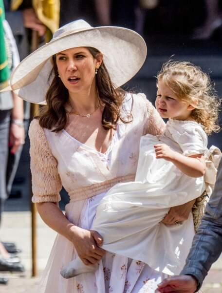 Tatiana Santo Domingo et sa fille India