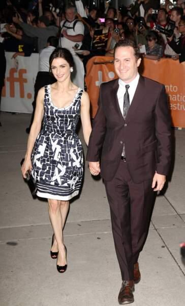 Rachel Weisz et Darren Aronofsky (2010)