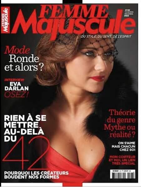 Assumant ses rondeurs de quadra, Miss France 1994 officie désormais comme mannequin grande taille.