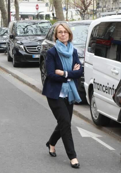 Françoise Nyssen, ministre de la culture, à l'hommage à Jacques Higelin