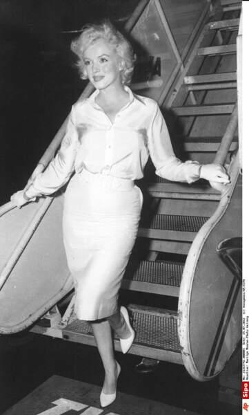 1958, Marilyn est une icône, du charme elle passe au glamour