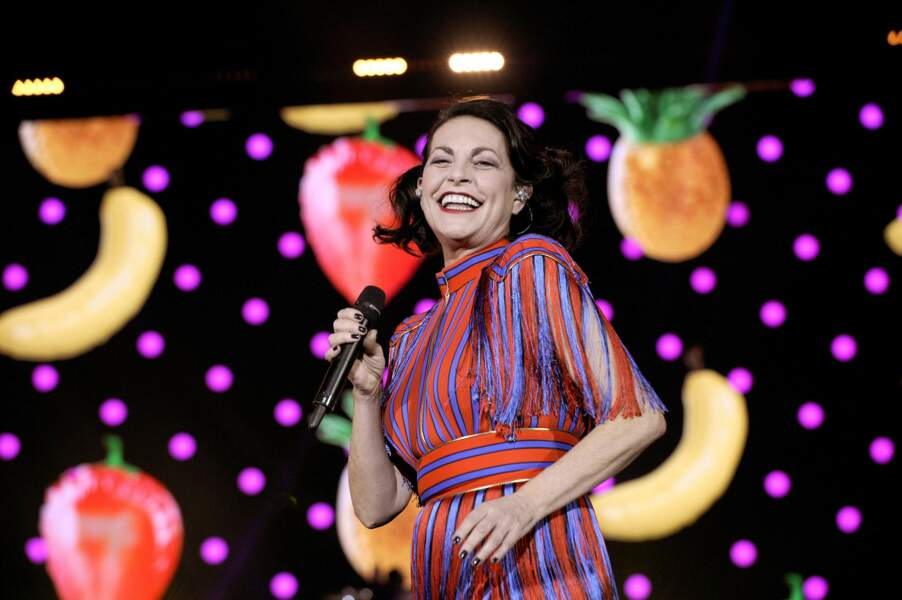 La chanteuse Lio, ex-membre du jury de la Nouvelle Star.