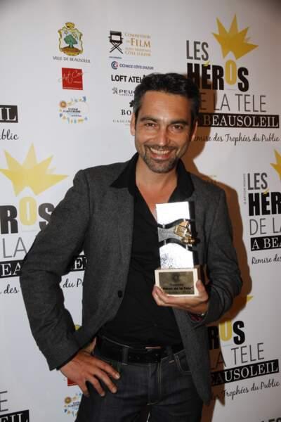 Arnaud Giovaninetti, tout sourire