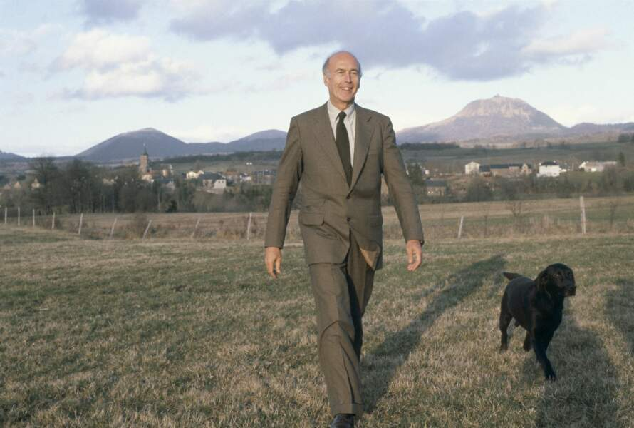 Valéry Giscard d'Estaing et Samba