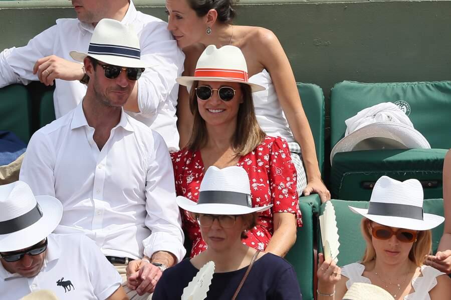 Pippa Middleton et son mari, plus amoureux que jamais