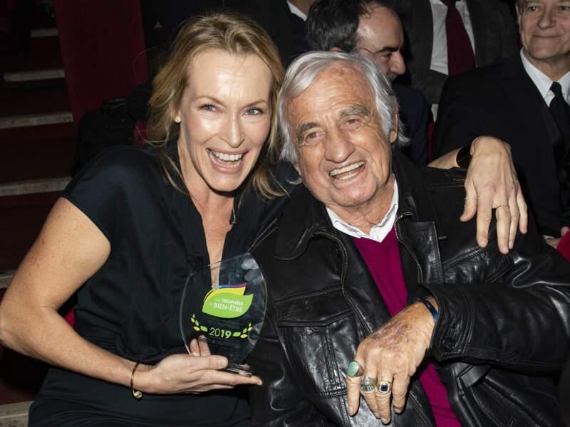 Trophées du Bien-Être : Jean-Paul Belmondo et Estelle Lefébure