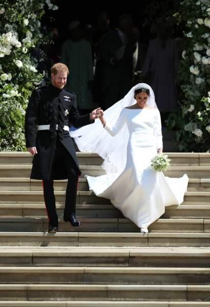 Le prince Harry et Meghan Markle sublimes