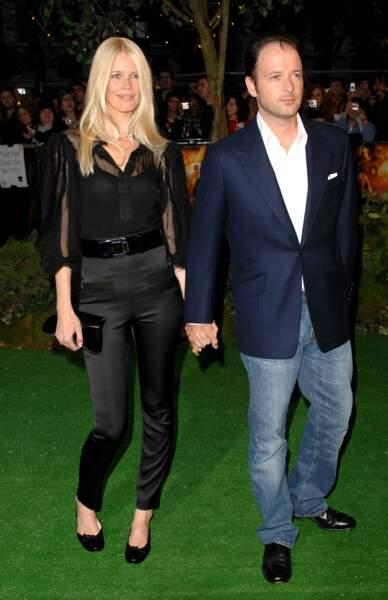 Claudia Schiffer a fait fondre un homme: son mari Matthew Vaughn. Nous sommes en 2007.