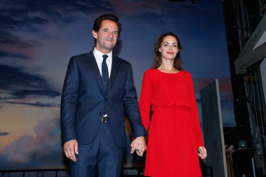 Stéphane De Groodt et Bérénice Béjo