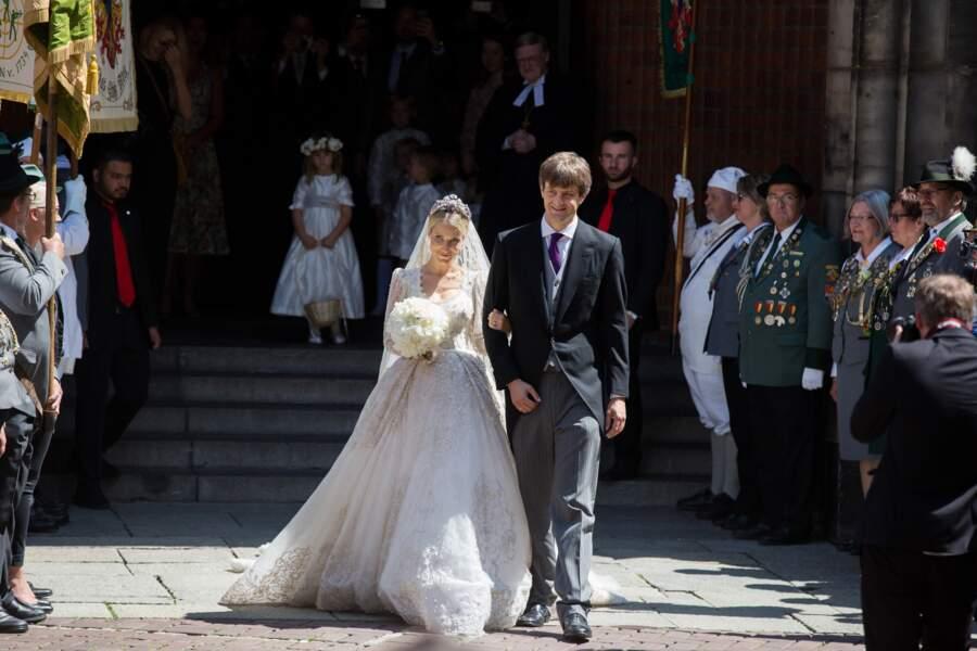 Cérémonie religieuse du mariage du prince Ernst August Jr de Hanovre et de Ekaterina Malysheva