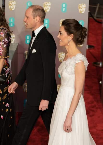 A cette occasion, Kate Middleton a opté pour look très sophistiqué.