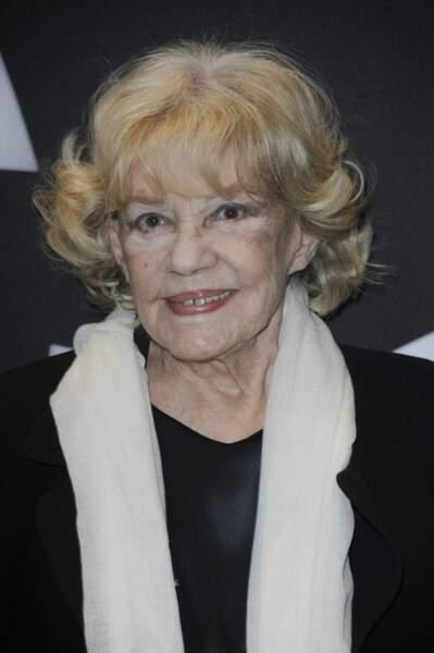 La comédienne Jeanne Moreau (disparue le 31 juillet 2017)