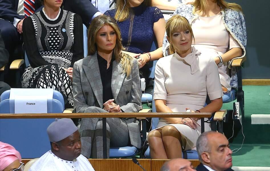 Ce 19 septembre, Melania Trump était à la 72ème assemblée générale des Nations-Unies à New York