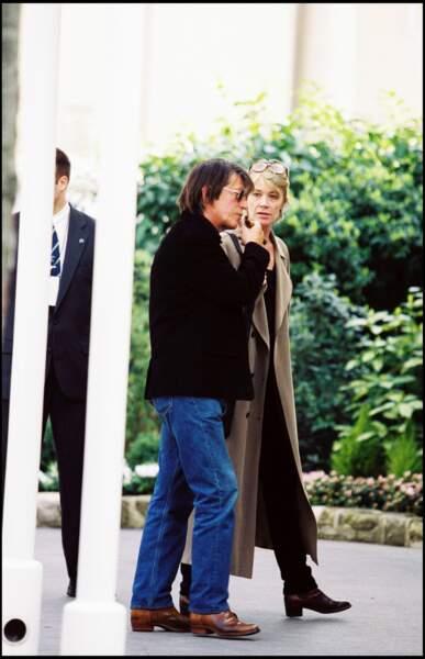 Le couple réuni à Paris pour la photo souvenir des 50 ans de Paris Match, en 1999.