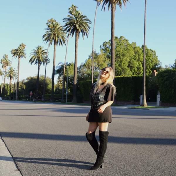 Sur Instagram, Darina partage son quotidien entre Los Angeles et Paris