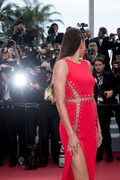 Irina Shayk, les flashs crépitent pour le top russe