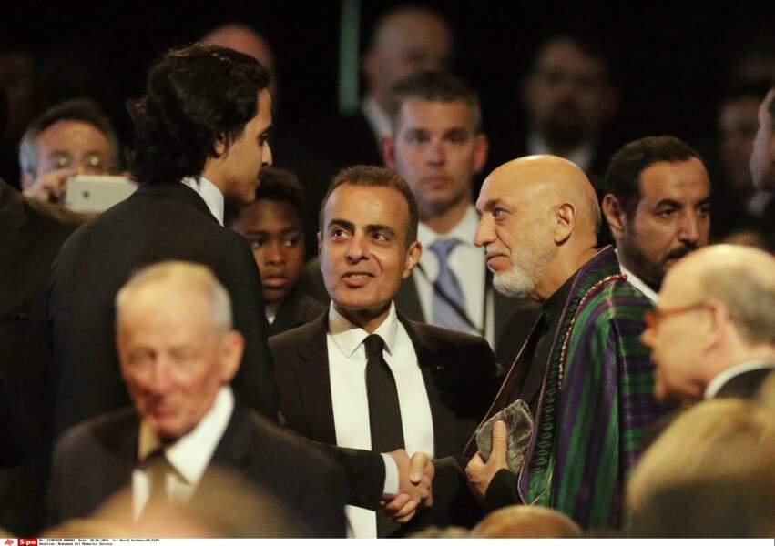 L'ancien président afghan, Hamid Karzai