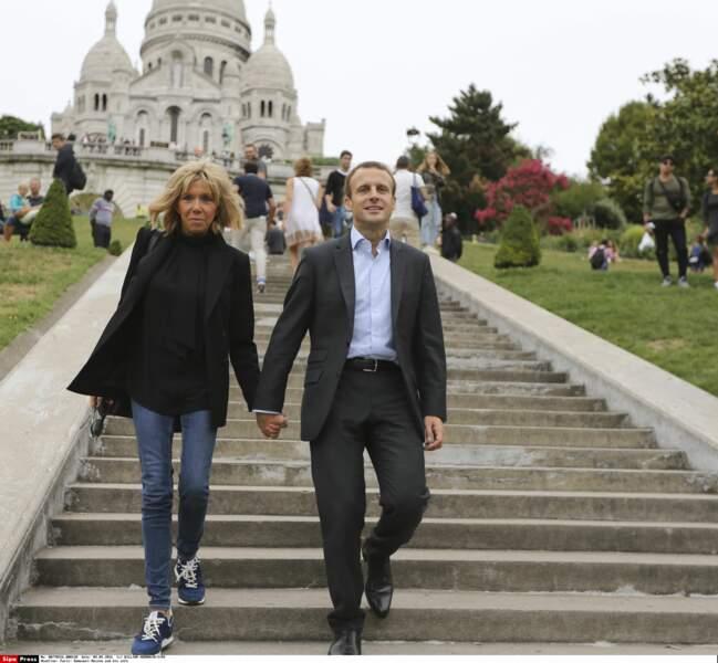 Brigitte Macron : une allure ultra athlétique