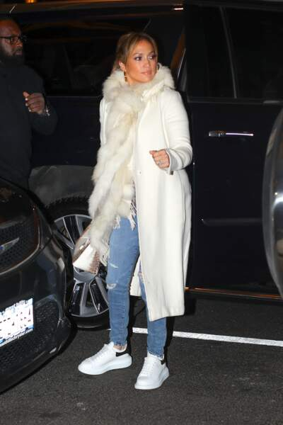 Jennifer Lopez retrouve Alex Rodriguez à New York