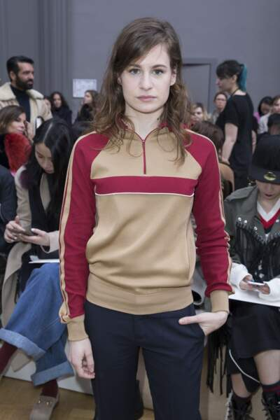 Héloïse Letissier (Christine and the Queens) au défilé Chloé le 3 mars 2016 à Paris