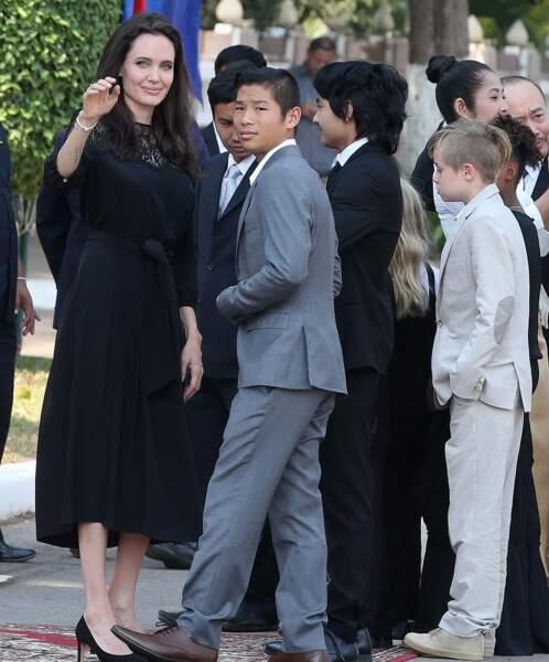 Angelina Jolie s'est exprimée pour la première fois sur son divorce au Cambodge.