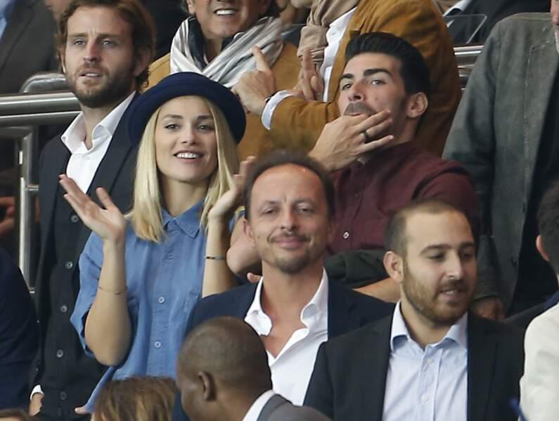 Joy Esther et Andrea Condorelli, des vrais supporters à Paris
