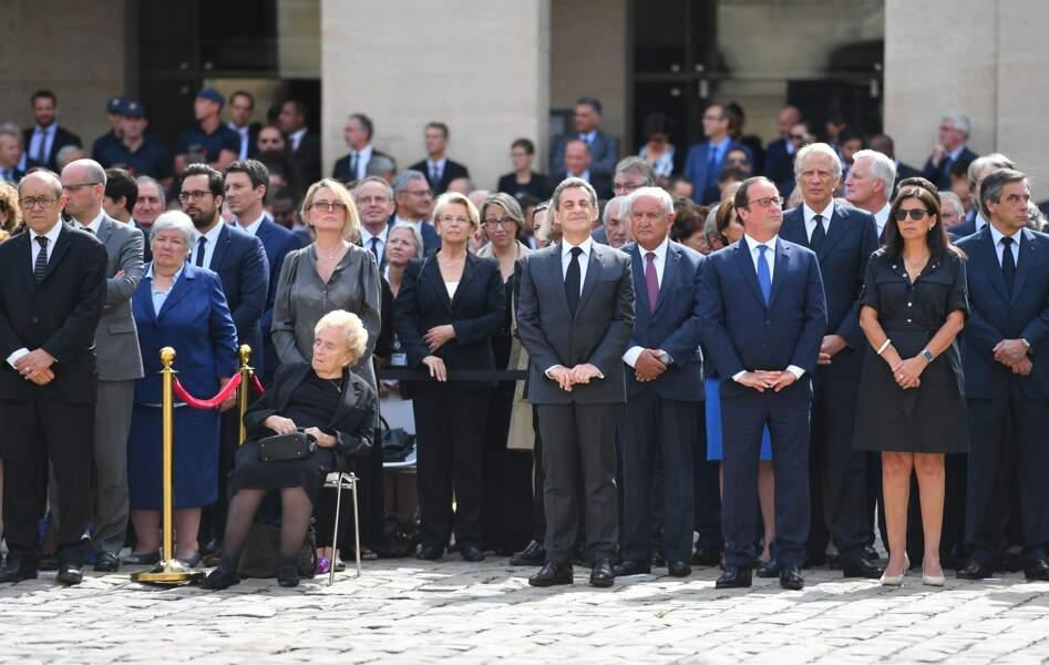 De grands chefs d'Etat sont réunis pour les obsèques de Simone Veil