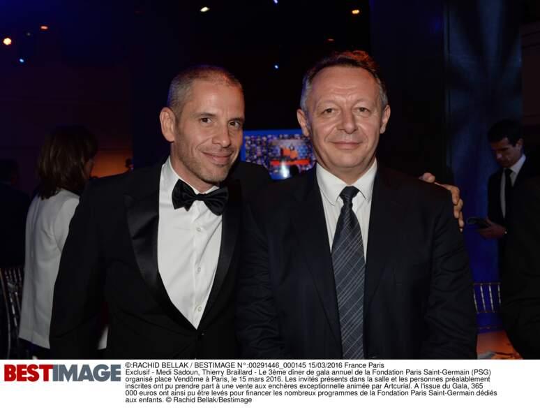 Medi Sadoun et Thierry Braillard, Secrétaire d'Etats aux sports