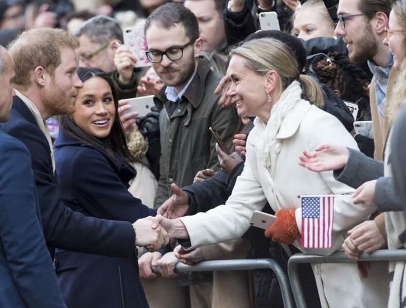 Le prince Harry et Meghan Markle s'engagent pour la journée mondiale de la lutte contre le Sida à Nottingham