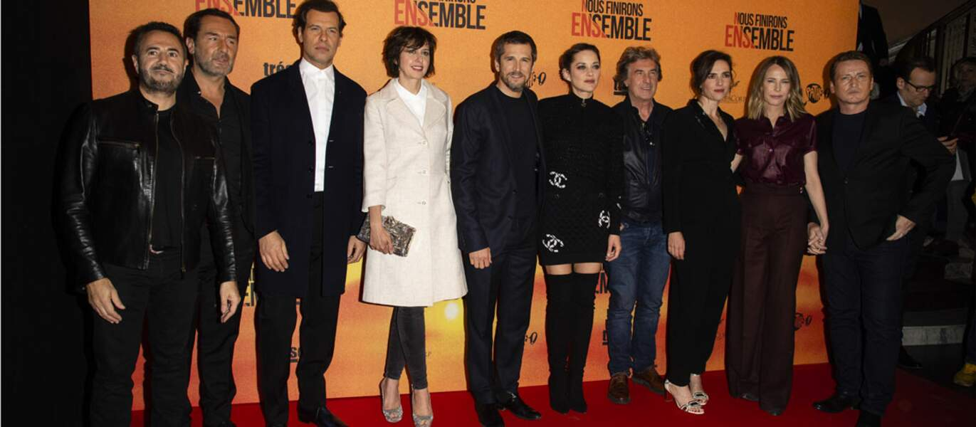 L'équipe du film a présenté la suite des Petits Mouchoirs, réalisé par Guillaume Canet.