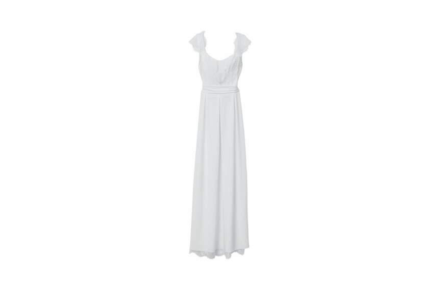 Lorafolk  pour Monoprix, Robe de mariée, écru, soie et dentelle, 280 €