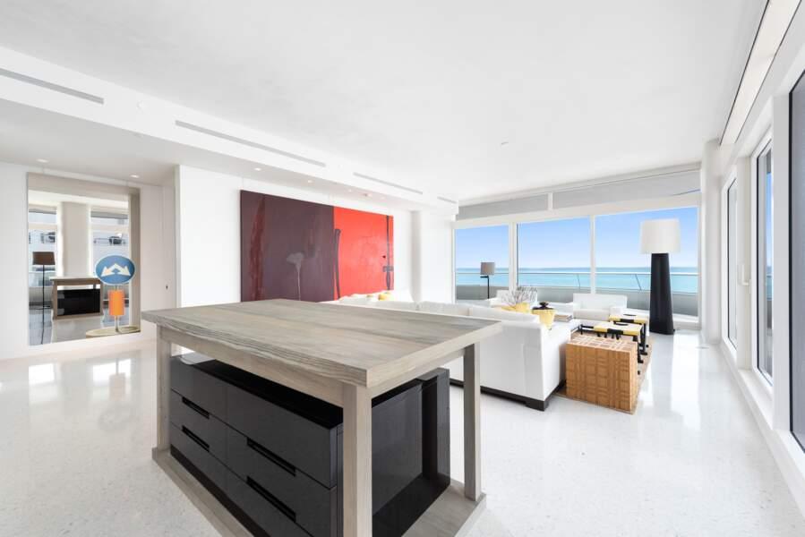 L'appartement du couple West-Kardashian fait quant à lui 440 m²