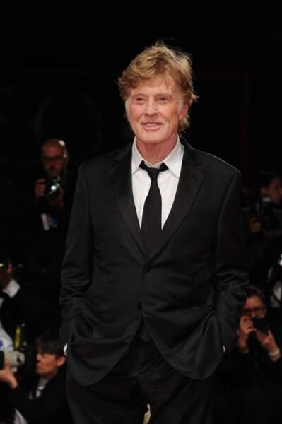"""À 82 ans, Robert Redford est à l'affiche du film """"The Old Man and The Gun"""", son dernier film en tant qu'acteur"""