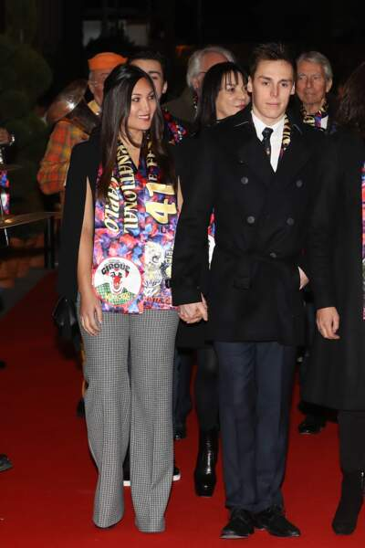 Louis Ducruet et Marie Chevallier - Soirée du 41e festival international du cirque de Monte-Carlo le 19/01/17