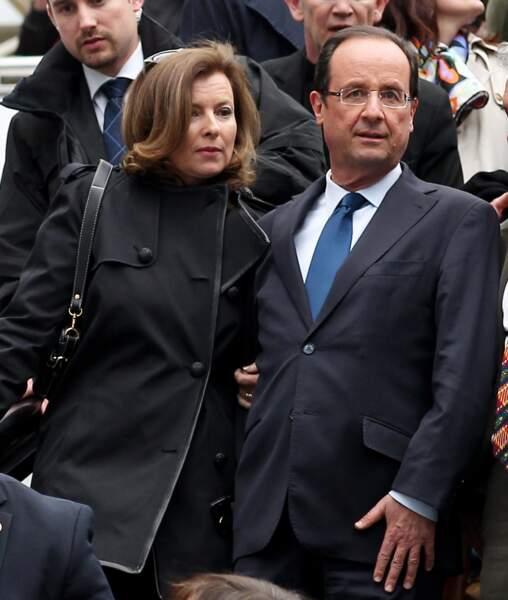 François Hollande s'est séparé de Valérie Trierweiler en 2014.