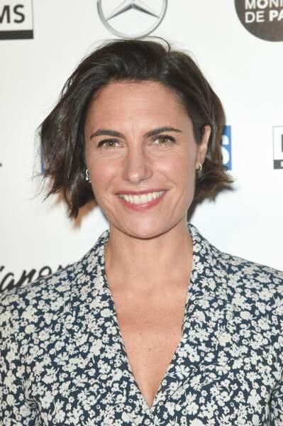 Alessandra Sublet et son carré wavy, lors des Trophées du Film Français à Paris le 5 février 2019