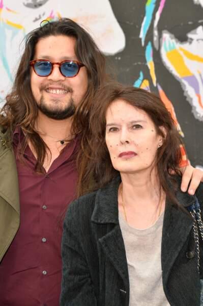 Lulu Gainsbourg et sa mère, Bambou